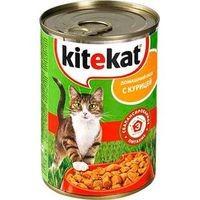 фото KiteKat - Китикет консервы для кошек (курица)