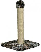 Зооник Когтеточка на подставке 55 см (цветной мех) 340*340*550