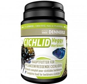 фото Dennerle Cichlid Veggy  Основной корм в форме гранул для растительноядных цихлид