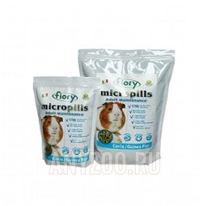 Купить Fiory Фиори Micropills Guinea Pigs корм для морских свинок