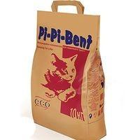 """фото Pi-Pi-Bent """"Классик"""" комкующийся наполнитель для кошачьего туалета (бумажный пакет)"""