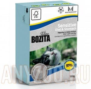 Bozita TetraPak Funktion Sensitive Diet&Stomah