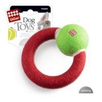 фото GiGwi Игрушка для собак Круг с наполнителем
