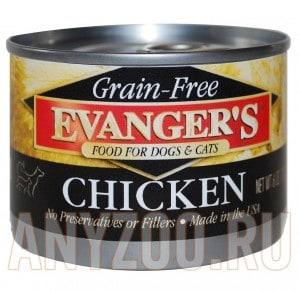 Evanger`s Organics Cooked Chicken