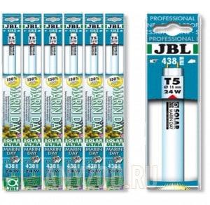 фото JBL Solar Marin Day T5 Ultra (15000K) Лампа Т5 дневного белого цвета для морских аквариумов