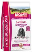 Biomill Swiss Professional Medium Senior Chiken