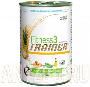 фото Trainer Fitness 3 Adult Medium/Maxi Vegetal Консервы для собак средних/крупных пород Вегетарианские