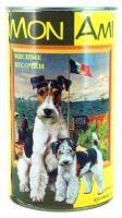 МонАми консервы для собак Мясные кусочки