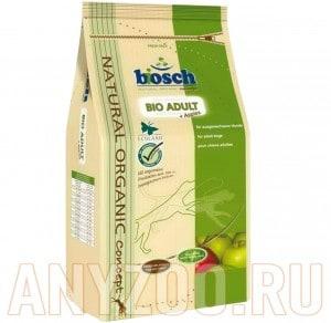 Купить Bosch Bio Adult - Бош Био Эдалт корм  с яблоком для взрослых собак