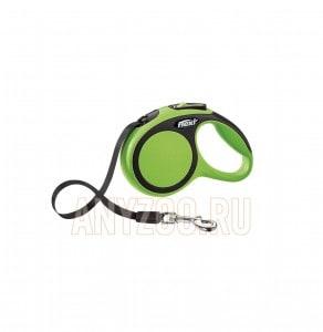фото Flexi New Comfort рулетка для собак, размер XS, 3м*12кг, ремень