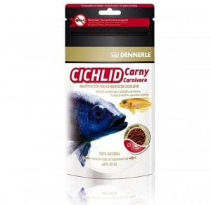 фото Dennerle Cichlid Carny Основной корм в форме гранул для плотоядных цихлид