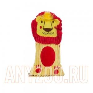 Купить Petstages Ботл Гиглерс Игрушка для собак текстильная с бутылкой и пищалкой Лев