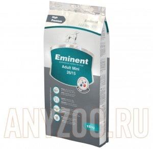 фото Eminent Adult mini 26/15 Полнорационный сухой корм для взрослых собак мелких и карликовых пород