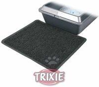 фото Trixiе 40381 коврик для кошачьего туалета антрацит, пвх 45*37см