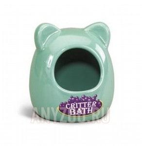 фото Super Pet Керамическая купалка для мелких грызунов.