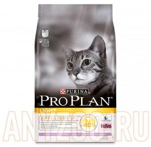 фото Pro Plan Light Про План Низкокалорийный, Облегченный для кошек склонных к полноте