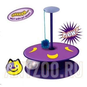"""Купить Petstages Игрушка """"Трек с мигающим мячиком""""  для кошек, арт.24007-1"""