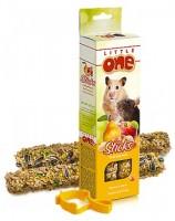фото Little One Палочки для хомяков, мышей и песчанок с фруктами и орехами