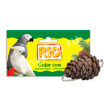фото Rio  Лакомство-игрушка кедровая шишка для всех видов птиц