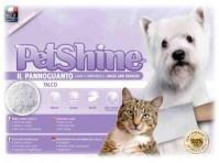 фото PetShine Очищающая варежка-салфетка для собак и кошек с детсткой присыпкой(тальк)