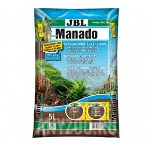 фото JBL Manado  Питательный грунт, красно-коричневый (цвет латеритной почвы)