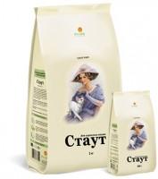 Стаут Сухой гипоаллергенный корм для кошек Ягненок/рис