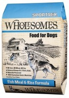 SportMix Wholesomes Dog Food Fish meal&rice-