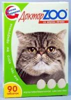 фото Доктор ЗОО Витамины для кошек со вкусом печени