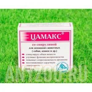 Цамакс кормовая добавка для всех животных со спирулиной