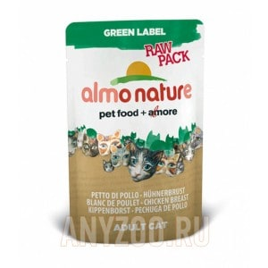 Almo Nature Green Label Raw Pack
