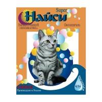 Найси Super Наполнитель силикагелевый для кошек