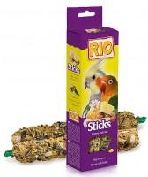 фото Rio Палочки для средних попугаев с медом и орехами