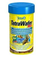 фото Tetra Wafer Mix Полноценный корм для любых видов донных рыб и ракообразных (пластинки)