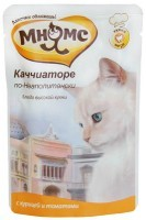 Мнямс Каччиаторе по-Неаполитански  пауч для кошек курица с томатами