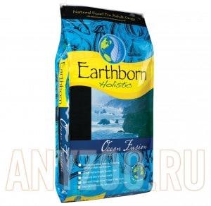 фото Earthborn Holistic Ocean Fusion for Dogs- Эрсборн холистик сухой корм  для взрослых собак (с рыбой)