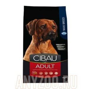 Купить Cibau Adult Maxi Чибау сухой корм для собак крупных пород