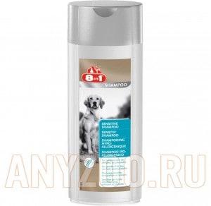 Купить 8 in 1 Sensitive Shampoo - Шампунь для собак с чувствительной кожей, с экстрактом алоэ