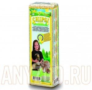 Купить Chipsi Plus Green Apple Наполнитель для грызунов - Опилки древесные ароматизированные Яблоко