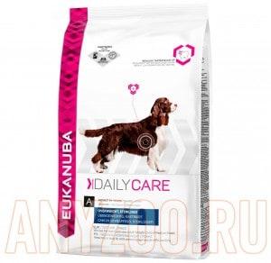 фото Eukanuba Dog DC Excess Weight - Эукануба сухой корм для собак с избыточным весом