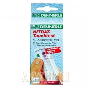 фото Тест Dennerle Nitrat Tauchtest на содержание нитратов