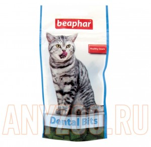 фото Beaphar Беафар cat-a-dent подушечки для очистки зубов у кошек