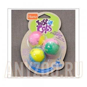 Купить Hartz- игрушка для кошек шарики цветные