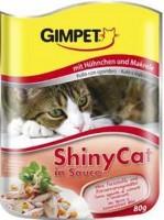 Gimpet - Джимпет консервы для кошек Шани Кэт  Цыпленок с макрелью в соусе (пауч)