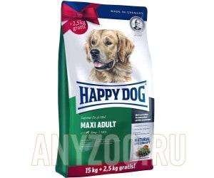 Купить Happy Dog Maxi Adult Хэппи Дог Сухой корм для взрослых собак крупных пород