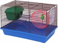 Зоомарк Клетка для грызунов укомплектованная, 2-х этажная арт. 125