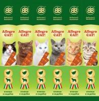 фото B&B Allegro Cat Колбаски для кошек Ягненок/Индейка (шоу бокс)