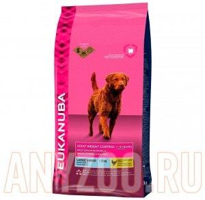 фото Eukanuba Dog Adult Large Breed Weight Control- Эукануба Корм для собак крупных пород, облегченный