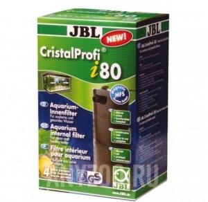 фото JBL CristalProfi  i80 greenline Внутренний угловой фильтр для аквариумов 60-110 литров, 150-420 л/ч