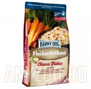 Купить Happy Dog Flocken Vollkost Микс хлопьев с мясом для собак