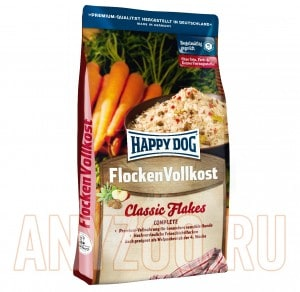 "фото Happy Dog Premium Flok - Хеппи Дог сухой корм для собак хлопья ""Хеппи Дог"""